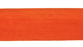 Image of a Minotti Straight Bench Slipcover - Pumpkin