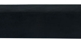 Image of a Minotti Straight Bench Slipcover - Black