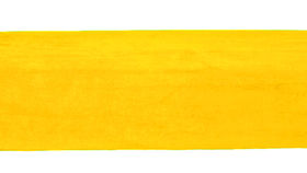 Image of a Minotti Straight Bench Slipcover - Canary Yellow