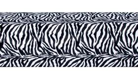 Image of a Minotti Straight Bench Slipcover - Zebra