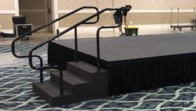 "Image of a 18"" Step Unit w/Hand Rails"