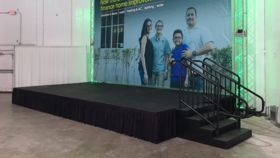 "Image of a 12x24' Stage (36"" Height)"