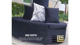 Image of a 360 sofa