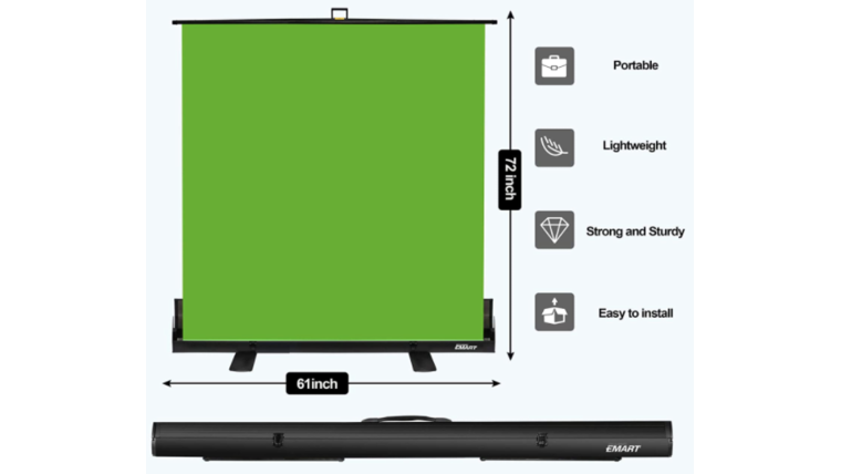 Picture of a Green Screen (Mobile Kit)