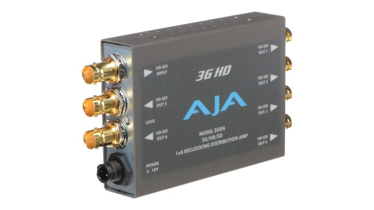 Picture of a AJA 1X6 HD/SD Distribution Amplifier