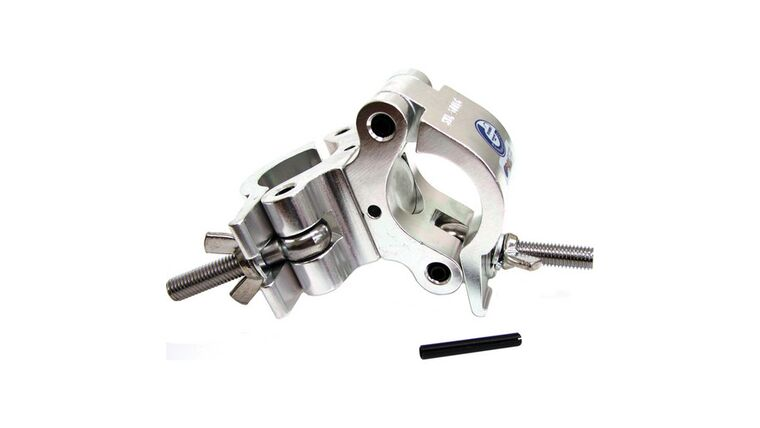 Picture of a Global Truss Heavy Duty Dual Swivel Clamp Silver
