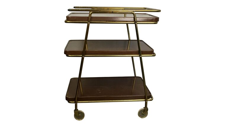 Picture of a Ashton 3-Tiered Bar Cart