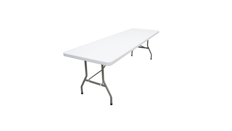 Picture of a 8ft Folding Banquet Table