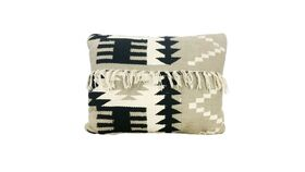 Image of a Aztec Fringed Pillow