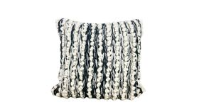 Image of a Knobby Striped Pillow