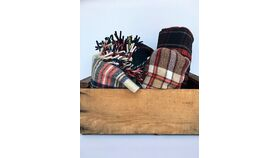 Image of a Plaid Blankets