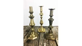 "Image of a 11"" - 14"" Brass Candlesticks"