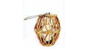 Image of a Boho Rattan Lantern