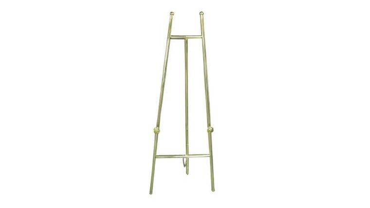 Picture of a Brass Easel