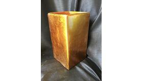 "Image of a 10"" Orange Cube"