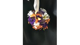 "Image of a 5"" Wildflowers Flower Ball"