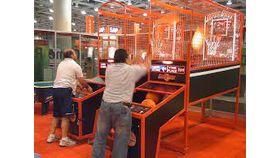 Image of a Basketball Shooting Arcade Game