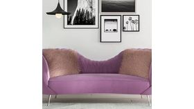 Image of a Sofa- Blush sofa (Emily)