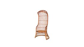 Image of a Bali Wicker Cage Chair