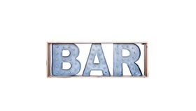 Image of a Bar Lighted Marquee Sign