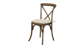 Image of a Beechwood X-Back Chairs