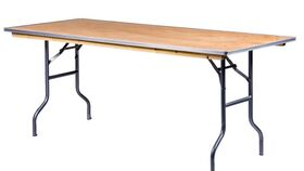 Image of a 6ft Banquet Table