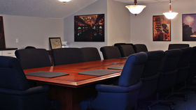 Image of a Huffman Boardroom
