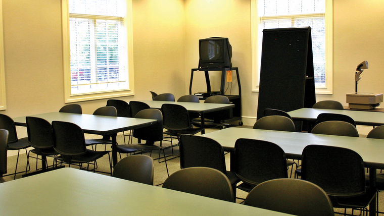 Picture of a IAMS Educational Room