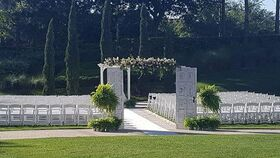 Image of a Antique White Wedding Doors