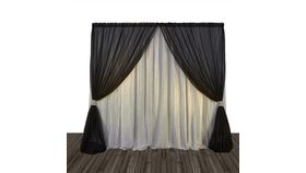 Image of a Draping panel - 14ft solid white