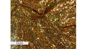 "Image of a 54""x 54"" Overlay - Sequin Gold"