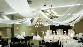 Image of a 8 Panel Ceiling Drape