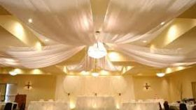 Image of a 6 Panel Ceiling Drape
