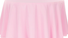 """Image of a 120"""" Pink Tablecloth"""