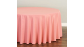 """Image of a 108"""" Strawberry Ice Tablecloth"""