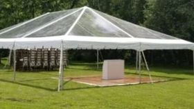 Image of a 40x70 CLEAR Tent