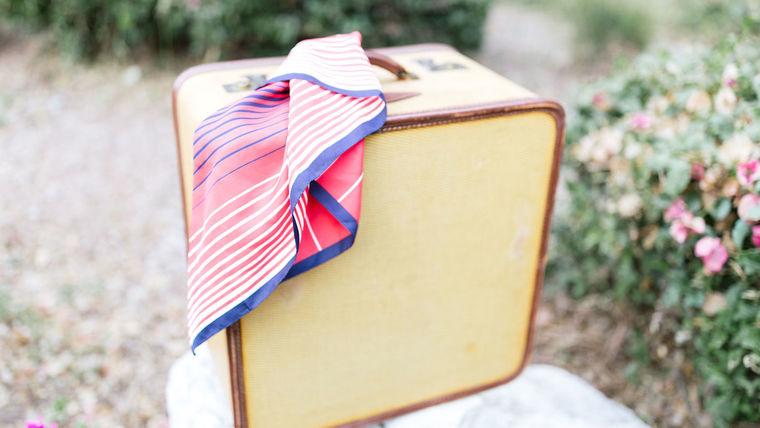 Picture of a Jacinda Vintage Square Suitcase