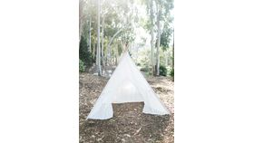 Image of a Bohemian Lace Tipi