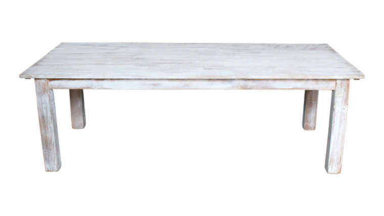 Image of a White Wash Farm Tables