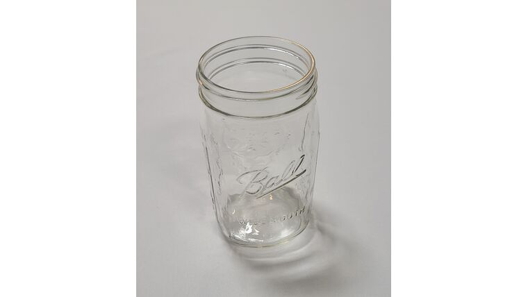 Picture of a Glass Mason Jars with Large Mouth