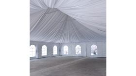 Image of a 40' x 40' Tent Lining
