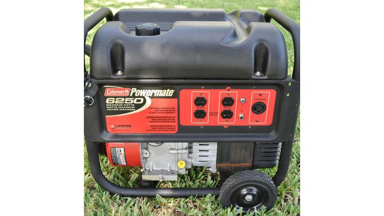 Picture of a Generator 5000 Running Watts