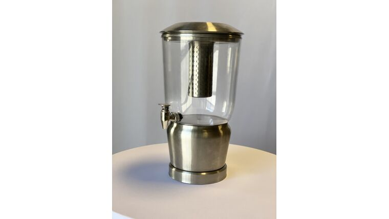 Picture of a 3 Gallon Stainless Steel Beverage Dispenser