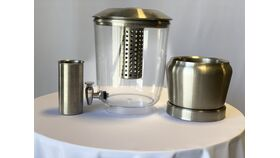 3 Gallon Stainless Steel Beverage Dispenser image