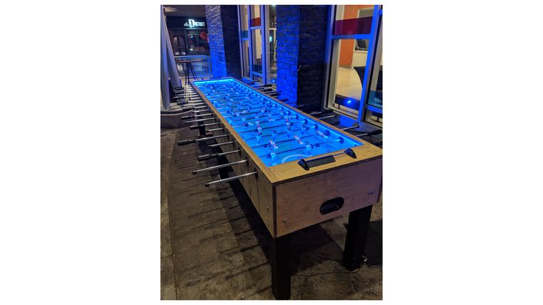 Picture of a 12' Giant Foosball Table