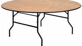 """Image of a 72"""" Round Table"""