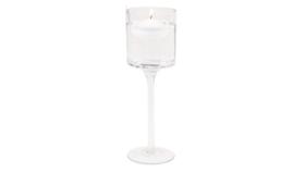 "Image of a 10"" Long Stem Floating Candle Holder"