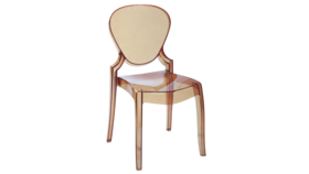 Image of a Amber Ghost Chair