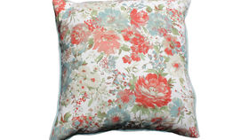 Image of a Antique Floral Pillow