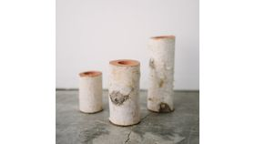 Image of a Birch Votives (qty unknown)